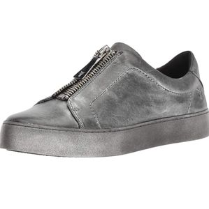Frye Womens Lena Zip Low Sneaker